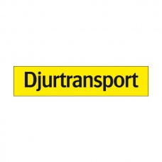 Trafikskyltar | Djurtransport dekal