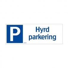 Parkeringsskyltar | Hyrd Parkering