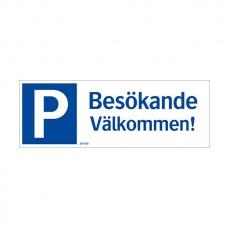 Parkeringsskyltar | Parkering Besökande