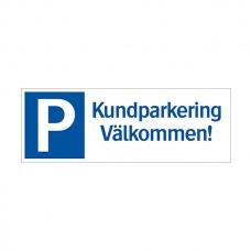 Parkeringsskyltar | Kundparkering