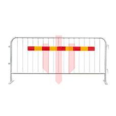 Kravallstaket | 25 st Kravallstaket med reflex med plattfot