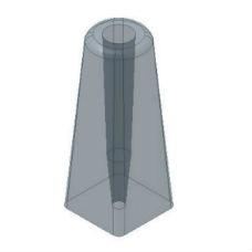 Trafikskyltar | Fundament för Stolprör 60 mm svart 30kg