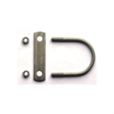 Papperskorgar | Robust stolpfäste för 60 mm stolpe ( 2 st.)