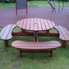 Picknickbord & Parkbord | Bänkbord Rondo Picolo för barn
