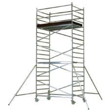 Rullställningar | Flexy Rullställning Dubbel plattformsbredd 1,4 x 1,7m - 1,3 -12,5m