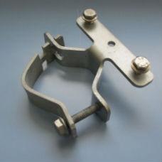Trafikskyltar | Enkelklammer 48-60 mm, förpackning om 2 st. för montering av 1 st. kantvikt skylt
