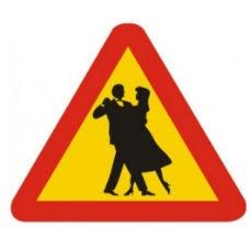 Varningsskyltar | Varningsskylt - bröllop