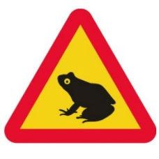 Varningsskyltar | Varningsskylt - grodor
