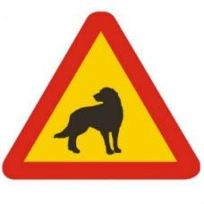 Varningsskyltar | Varningsskylt - hund