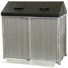 Avfallsskåp | Matavfallsskåp Taberg 2x140 liter