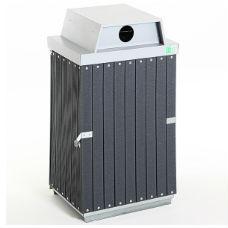 Säckhållare | Underhållsfri Säckhållare med inkasthål i komposit
