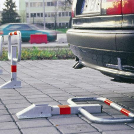 Bommar & Avspärrning | Parkeringsbygel Sesam med reflex