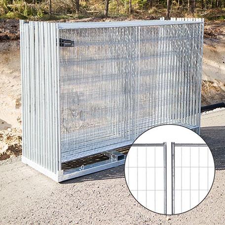 Byggstängsel | Byggstängsel Protect Original 105 m på transportpall