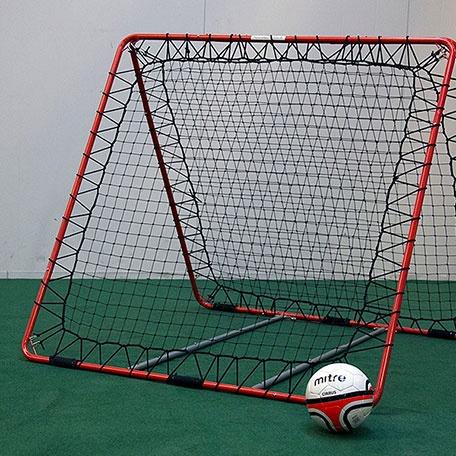 Fotbollsmål | Fotbollsmål Rebounder Goal 1 dubbelsidig för inomhusbruk