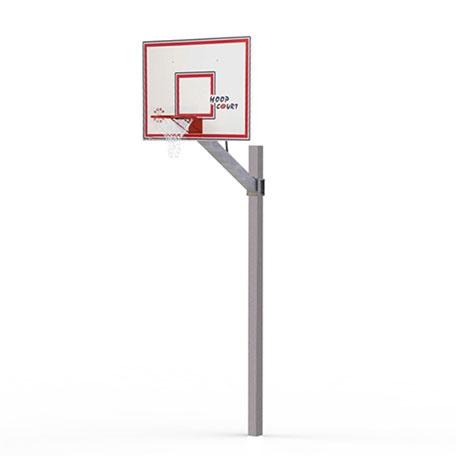 Basketställningar | Basketset Playmaker Easy med stativ, basketkorg, nät och platta