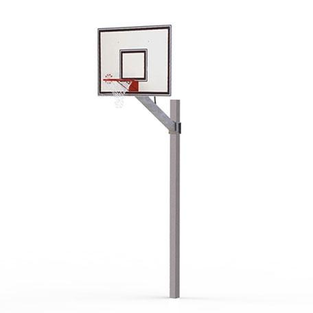 Basketställningar | Basketset Playmaker Basic med stativ, basketkorg, nät och vattenfast platta