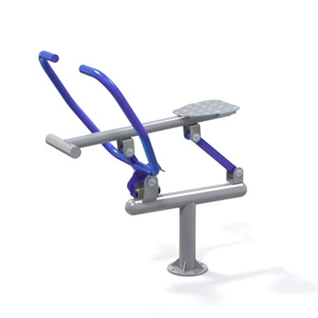 Utegym | Träningsstation Single Rower