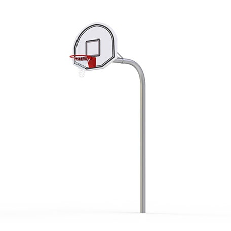 Basketställningar | Basketset Goose Neck Super