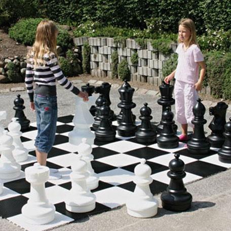 Lekplats & Lekmiljö | Stora schackpjäser för utomhusbruk