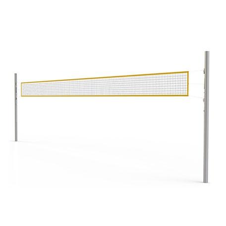 Volleybollnät | Volleybollstolpar -- beachvolleystolpar med utvändig sträckare
