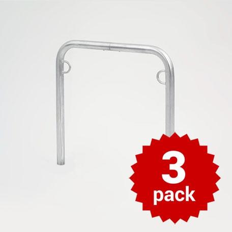 Cykelpollare | Cykelställ Trust för nedgjutning 3-pack
