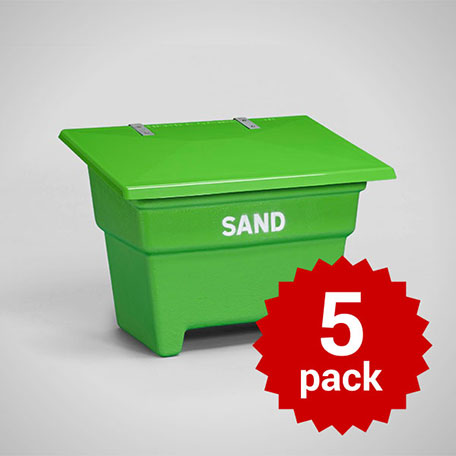 Sandbehållare | Sandbehållare 350L 5-pack