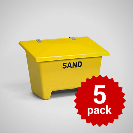 Sandbehållare | Sandbehållare 250L 5-pack