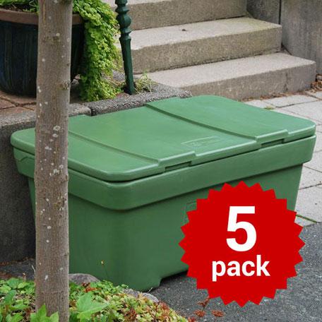 Sandbehållare | Sandbehållare i polyeten 200L 5-pack