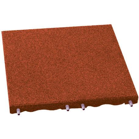 Fallskyddsplattor | Fallskydd röd 30-90 mm