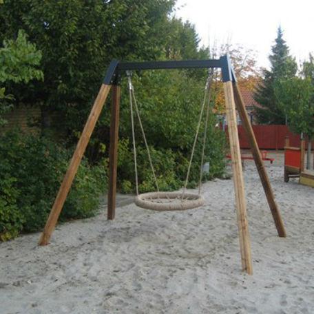 Gungställning | Gungställning Trä med fågelbogunga