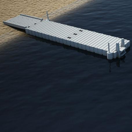 Flytbryggor | Badbrygga EZ Dock 8,1 meter