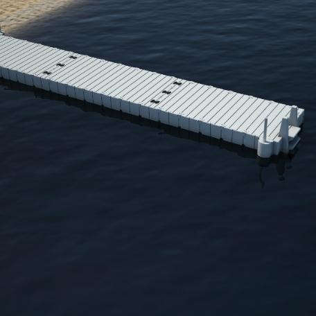 Flytbryggor | Badbrygga EZ Dock 11,10 meter