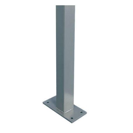 Informationstavlor | 2 st Rektangulära stolpar till modell E för bultning