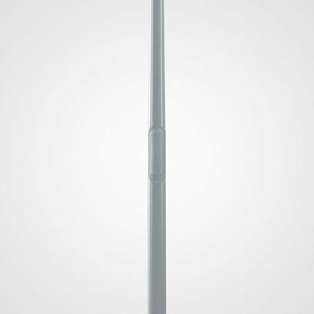 Belysningsstolpar | Belysningsstolpe Streetmast Silvergrå