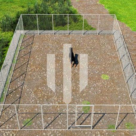 Hundgårdar | Hundgård Fido 69 m2