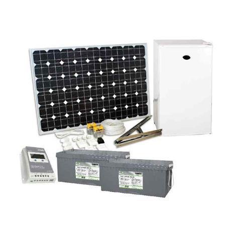 Sol & Vindenergi | Solcellspaket 200W inkl. 12V kylskåp
