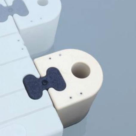Båtramper & vattenskoterramper  | Helgjutet beslag för 90mm rör
