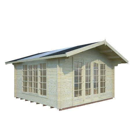 Friggebod & Förråd | Stuga 13,9 m2 med fönstertak