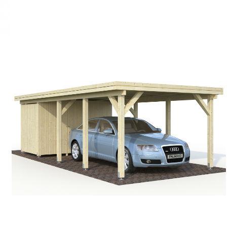 Carportar | Carport 23,1 m2