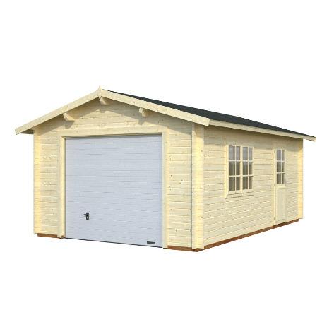 Garage & Utehus | Garage 19 m2 med vipport