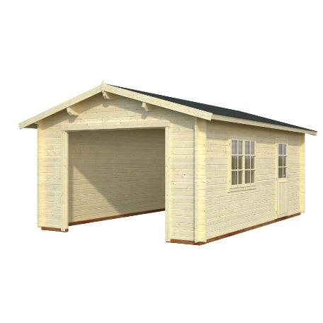 Garage & Utehus | Garage 23,9 m2 utan port