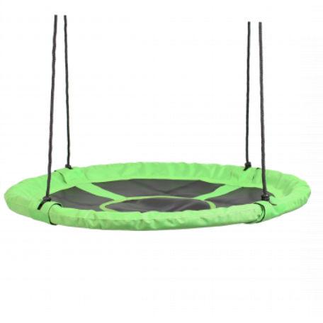 Kompisgunga   Rundgunga grön/svart 110 cm