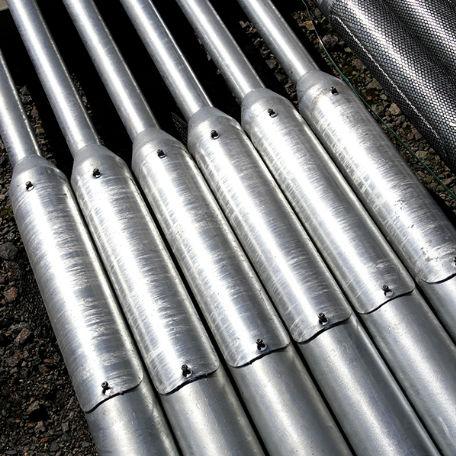 Belysningsstolpar | Galvad Belysningsstolpe i stål 4-12m