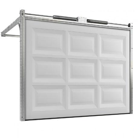 Garageportar | Motordriven garageport 4500 x 2100mm Rutad