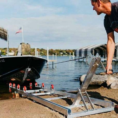 Båtramper & vattenskoterramper  | Strandramp för båtar 350 kg