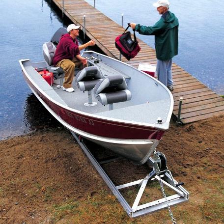 Båtramper & vattenskoterramper  | Strandramp för båtar 550 kg
