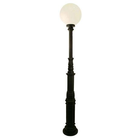 Belysningsstolpar | Lyktstolpe Ljuså Plastglob 400