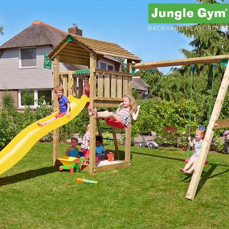 Lektorn | Jungle Gym lektorn med gungmodul och 2 gungor