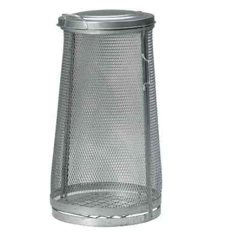 Säckhållare | Säckhållare 125 l Sträckmetall Galvaniserad
