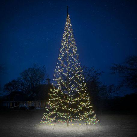 Flaggstångsbelysning | Julbelysning Fairybell 6-10m 1200 LED 20W Multicolour